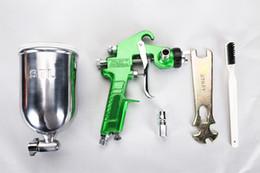 Wholesale Valianto W77 G HVLP Gravity Feed Cheap Auto Industrial Accessories Spray Gun Green Nozzle Size mm