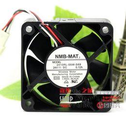 Wholesale: NMB 2410RL-05W-S69 6CM 24V 0.12A printer fan