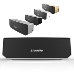Wholesale Bluedio BS Camel Portable Bluetooth speaker wireless Subwoofer Soundbar Revolution Magnetic driver D stereo music with retail box