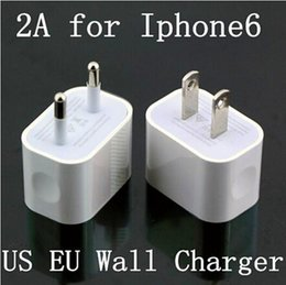 Wholesale 5V A iPhone US EU AU Plug Home Wall Charger AC Travel USB Adapter for iPhone S S Samsung Galaxy S5 S4 S3 Note4 HTC iPad Air US08
