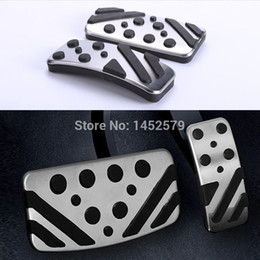 Wholesale For Mitsubishi Clutch Accelerator Gas Brake metal pedal Clutch Pedal automatic manual car styling