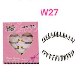 W-27 under lashes bottom lashes lower lashes free shipping