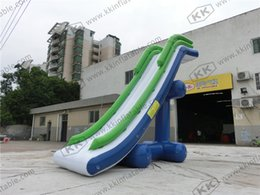 Towable Water Slide Inflatable Water Toys , sealed Water Floating Yacht For Children