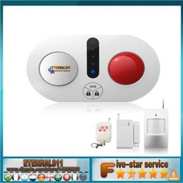 Wholesale 2016 NEW Wireless acoustic optic anti theft alarm home store infrared security system door and window anti theft device