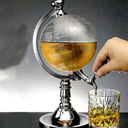 Wholesale Bar KTV bar decoration Creative Mini Globe Water Dispenser Personality Beer Machine water Machine Water Bottles