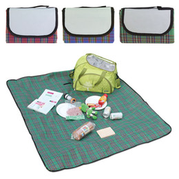 Wholesale New Arrivals Waterproof Outdoor Camping Beach Picnic Blanket Rug Mat Plaid m x m CX294