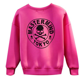 New Autumn 2016 Sweatshirt Women Letter Skull Print O-neck Full sleeve Hoodies Pullover Loose Cool Black Tops feminino sudadera