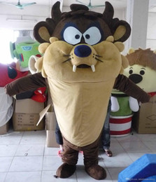 with one mini fan inside the head Tasmanian Devil mascot costume for adult to wear for sale