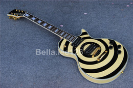 Custom electric guitars,rosewood fingerboard,Nickle pickups,gold tuners Zakk Wylde electric guitar