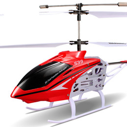 Wholesale Remote Control Line Flying m Remote Control Helicopter Channel Flash LED Light Gyro Gift Aircraft Toy Kids