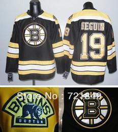 Wholesale factory price New cheap Boston Bruins Ice Hockey Jerseys Tyler Seguin white black green yellow jersey Best