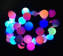 2017 des vacances mini-lumières 2015 Noël mini globe cordes 5m / set 50LEDs pour chaque ensemble en forme de boule 6W Décorations d'éclairage Promotion LED Party Holiday Lights des vacances mini-lumières à vendre