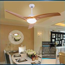 Gros-52 pouces 12W LED ventilateur plafonnier avec interrupteur de commande à distance, lames ABS, 3 couleurs claires, matériau acrylique à partir de dc a mené la lumière au plafond fabricateur