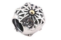 100% Sterling Silver Charms 925 Ale Snowflake European Charms for Pandora Bracelets DIY Beads Accessories Christmas Gift