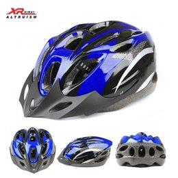 Wholesale-Altruism mens road bike helmets 2015 mountain bike helmet cycling helmet 3 color red blue silvery