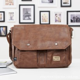 Wholesale Man Brand Bag Best Quality Men Messenger Bags Business Briefcase Genuine Leather Bag Restoring ancient way Man Casual Briefcase