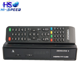 Wholesale 1pc Zgemma Star S with single DVB S2 tuner Enigma2 Satellite Receiver software download better than cloud ibox plus se