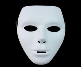 Wholesale Top Quality New Horror Men Women Halloween Face Mask Ghost Dance Step HIP HOP Jabbawockeez Mask