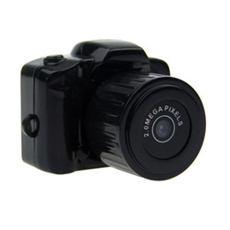 Wholesale Mini Digital DSLR DV Video Recorder Camera Web Cam DVR Camcorder HD x720 Y2000