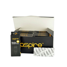 Wholesale new packing Original Aspire Nautilus BVC Coil for Aspire Nautilus Mini Clearomizer Replacement Bottom Vertical BVC Coil ohm ohm