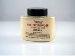 Wholesale 2015 newest Ben Nye Luxury Powder g New Natural Face Loose Powder Waterproof Nutritious Banana Brighten Long lasting
