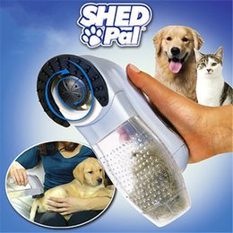 Wholesale 2016 Shed Pal Pet Hair Remover Dog Cat Grooming Vacuum System Clean Fur With Retail Packing