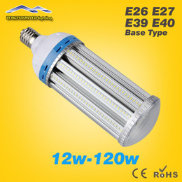 Wholesale High lumen LED Corn Light Bulb W W W W W W W W W W E27 E40 Garden Warehouse parking lighting