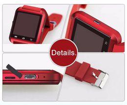 Nouvelle u8 bluetooth montre-bracelet à puce en Ligne-Pas cher à New Mode Smart Phone Montre Bluetooth U8 montre Smart Watch poignet 1,5 pouces pour les smartphones iPhone Android