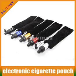 Cheap 50PCS E Cigarette Bag eGO CE4 Case Mechanical Mod Vaporizer Bag Battey black Carrying Pouch Click N Vape Pocket For eGO E Cigarettes