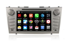 Wholesale Android Car DVD Player for Toyota Camry w GPS Navigation Radio BT USB SD DVR Audio Stereo WIFI Screen