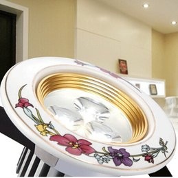 Rose Series led Home ligthing luminaria led downlight 3W AC85-265V Ceramic recessed led kitchen lights