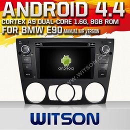 Wholesale WITSON Android Car DVD Player DIN Inch Screen Wifi Car Radio DVD Player for BMW E90 P HD Video Design Hot Sale A6933