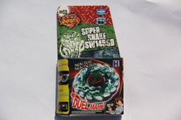 Wholesale 1 piece BEYBLADE METAL FUSION POISON SERPENT SW145SD LAUNCHER PACK BB
