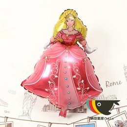 Wholesale XXL size cartoon Princess Al film BALLOON Birthday Party Wedding decorate new aluminum foil balloon