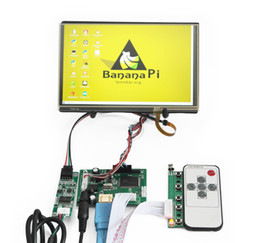 Wholesale HDMI LCD Display Driver Controller Board quot inch IPS N070ICG LD1 LD4 Touch Panel Kit for Raspberry PI