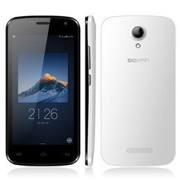 Wholesale In Stock Doogee X3 G Smartphone Inch GB RAM GB ROM Android Lollipop Quad Core MP Camera