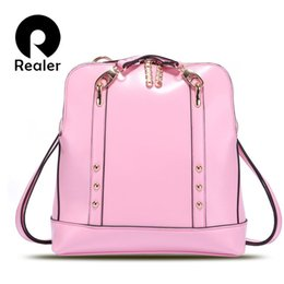New preppy style women backpack school bag sweet candy color bag women bags school backpacks free shipping