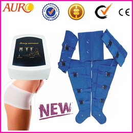 factory price presoterapia with pressotherapy massager Lymphatic Massage suit beauty machine with one year warranty AU-7007