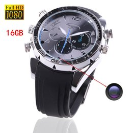 10pcs lot Mini Waterproof Camcorders Hidden Camera Watch Spy DVR 16gb Hd 1080p With IR Night Vision