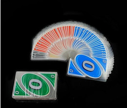 Wholesale UNO H2O Waterproof Clear Playing Card Game new