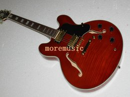 New 335 Christmas promotion custom shop brown jazz guitar musical instrument free shipping
