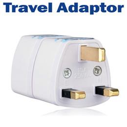Free Shipping Universal Travel Adapter US EU AU to UK Converter AC Power Adapter Plugs