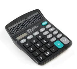Deli Calculator 837ES type économique de l'énergie solaire double alimentation fournitures de bureau Calculatrice de bureau non seulement pour l'utilisation de bureau mais aussi pour les cadeaux à partir de bureau de la calculatrice fournisseurs
