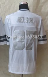 Wholesale Factory Outlet Jordy Nelson Platinum White Limited Jersey Men s Limited Football Jersey New Best Quality Embroidery Logo Size S