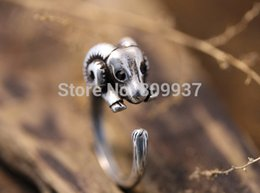 Wholesale-Hot Sale Ram Animal Wrap Rings for Women and Girls Unique Rings Fine Jewelry