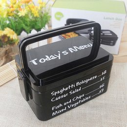 Wholesale Wholesales Portable Lunch Box Large Capacity Microwave Oven Bento Box with Fork Spoon Eco friendly Food Container JH0017 smileseller