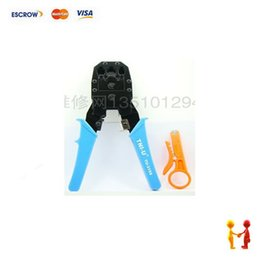 Wholesale Tu s tools with three ethernet cable plier rj45 rj11 rj12 crimping tools network clamp