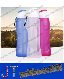 Wholesale Safe best nalgene OTF foldable water bottle reusable personalised foldable drink bottles for kids MYY15461