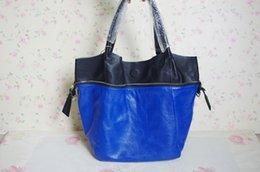 Wholesale bag clock BIG SALES Fashion Soft Cowhide Women GENUINE LEATHER Designer High Quality Color Block composite shoulder bags