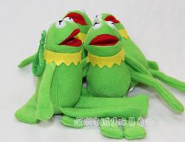 Wholesale Ty Beanie Boos Muppets Frog Kermit Plush Toys cm New Kermit Plush Dolls Stuffed Animals Figures Toys Christmas Gifts